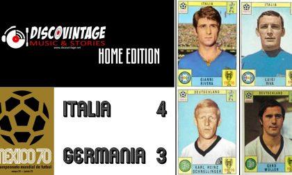 Appuntamento con i DiscoVintage per celebrare Italia-Germania 4-3