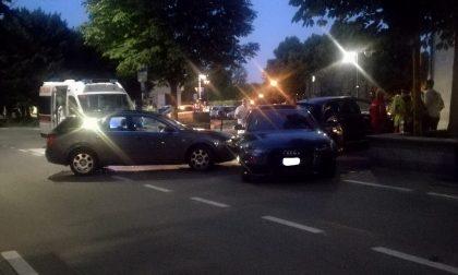 Scontro fra due auto a Rivarolo   FOTO