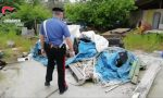 Discarica abusiva di rifiuti speciali, sequestro dei carabinieri | FOTO e VIDEO