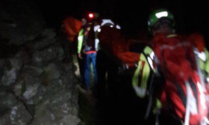 Escursionista infortunato salvato dal Soccorso alpino