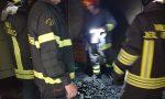 Principio di incendio a Ronco Canavese   FOTO
