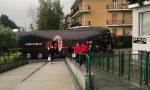 Giocatori del Milan a Leini, tutto pronto per la semifinale di Coppa Italia