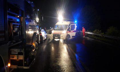 Incidente sulla SP460, scontro frontale, tre auto coinvolte | FOTO