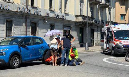 Incidente in corso Torino a Rivarolo, coinvolto un ciclista | FOTO