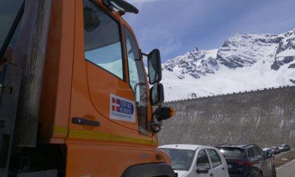 Proseguono i lavori sulla strada del Colle del Nivolet