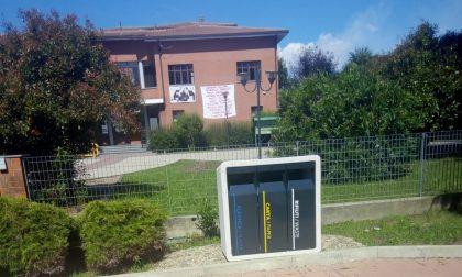 Raccolta differenziata,nuovi cestini in piazza a Mappano