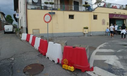 A San Francesco al Campo via San Giovanni Bosco chiusa al traffico