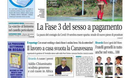 Il Canavese – edizione Rivarolo (del 08 luglio) in edicola. Ecco la prima pagina