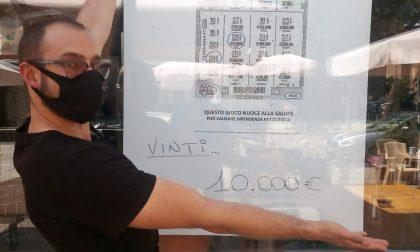 Vinti 10.000 euro al bar «La Piazzetta» di Lanzo