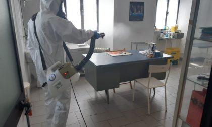 Protezione civile di Favria: 150 interventi di sanificazione sul territorio