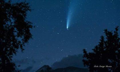 La cometa Neowise vista dal Canavese