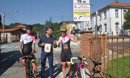 Anche Rocca tra le tappe del tour di Paola Gianotti, campionessa di ciclismo
