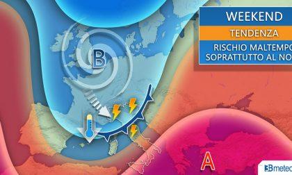 Previsioni meteo, temporali anche violenti in arrivo nel fine settimana