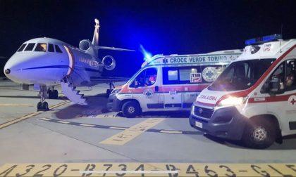 Caselle: Un volo d'urgenza dell'Aeronautica Militare salva una bimba di 5 anni