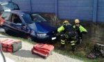 Incidente a Rivara, ferito un uomo di Rocca | FOTO