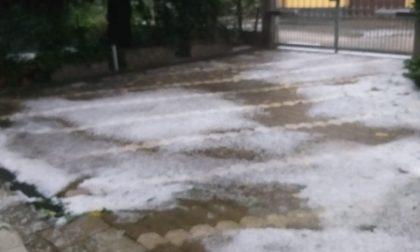Pioggia, neve e grandine si abbattono sul Canavese