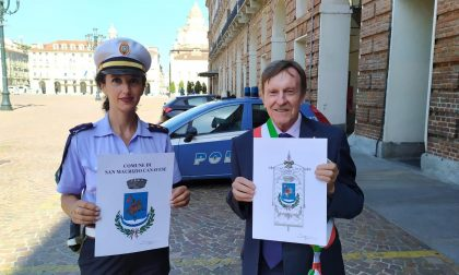 A rappresentare San Maurizio c'è un nuovo stemma