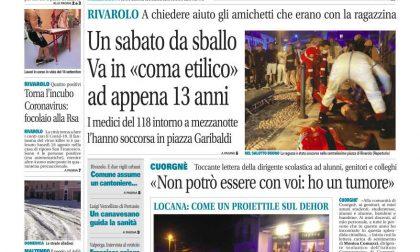 Il Canavese – edizione Rivarolo (del 02 settembre) in edicola. Ecco la prima pagina