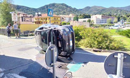 Incidente a Lanzo: due automobiliste in ospedale per accertamenti
