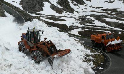 Prima nevicata al Nivolet, Sp. 50 temporaneamente chiusa | FOTO