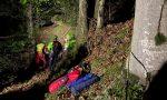 Precipita in un vallone, i tecnici del Soccorso Alpino recuperano il corpo senza vita