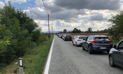 Disagi viabilità: atteso in queste ore passaggio ciclisti Torino-Biella
