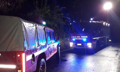 Maltempo in Canavese: nottata di lavoro per i vigili del fuoco