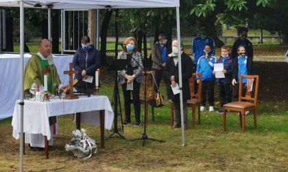 Messa in memoria di Andrea Baima Poma a Villa Ogliani