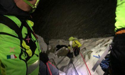 Alpinisti salvati dal Soccorso alpino nelle Valli di Lanzo