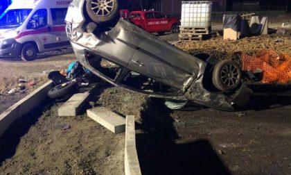 Morto il piccolo di 5 anni di Ivrea sbalzato dall'auto nell'incidente di Caluso