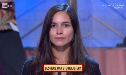 """L'eporediese Stefania a """"I Soliti ignoti""""   FOTO"""