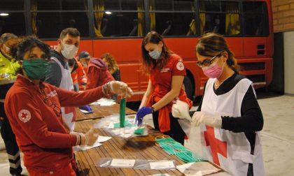 Tanti volontari a sostegno della Croce Rossa