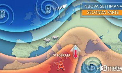 Settimana di piogge e maltempo in tutto il Nord Italia