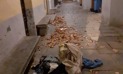 Ancora rifiuti scaricati senza ritegno in via Caviglione