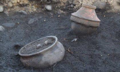 Scoperta necropoli romana nella centrale fotovoltaica di Volpiano | FOTO