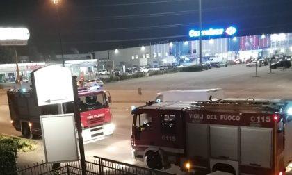Incendio in un'abitazione a Leini