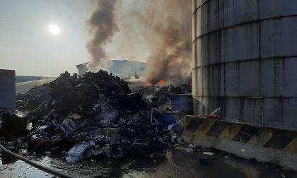 Incendio impianto Amiat: ecco i risultati delle analisi dell'Arpa