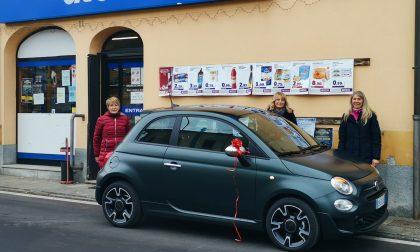 Vince l'auto in palio al concorso nazionale «La carica dei 100mila»