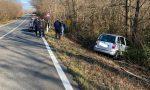 Auto esce di strada a Nole, ferita una donna
