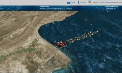 Dov'è Babbo Natale? Quando arriverà? Ecco in tempo reale dove si trova e quanti doni ha consegnato…