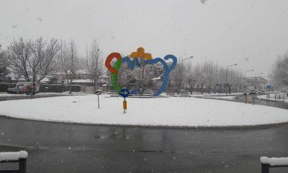 Canavese innevato, puntuale è arrivata la neve