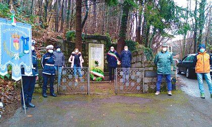 Commemorazione al monumento dei 7 martiri a Cuorgnè