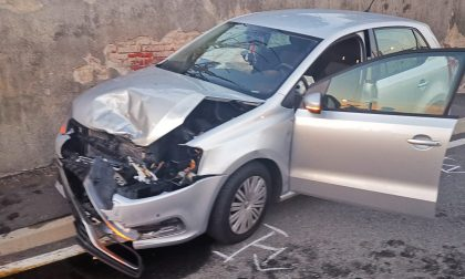 Ancora un incidente in via della Lumaca | FOTO