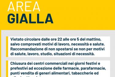 Il Piemonte resta in zona gialla fino al 15 gennaio, ecco tutti i dettagli