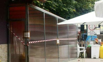 Chiosco Prato Fiera chiuso per abuso edilizio