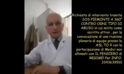 Medico negazionista di Borgaro sanzionato dall'Asl, aveva pubblicato video sui social