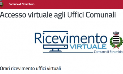 Sportelli comunali virtuali a Strambino