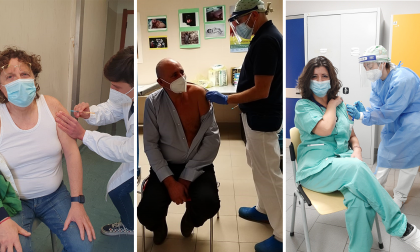 Primi medici vaccinati in Canavese a Ivrea, Ciriè e Chivasso, ecco chi sono