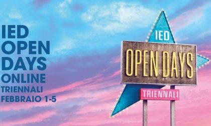 Allo IED Istituto Europeo di Design saranno online gli Open Days