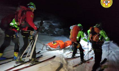 Ciaspolatori  precipitano dalla strada   al Lago di Malciaussia: salvati dal soccorso Alpino